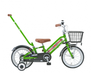 補助輪付き子ども自転車
