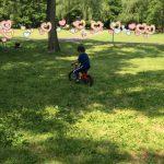 4歳男子、子供自転車:へんしんバイクに乗ってわずか1分で乗れた‼︎