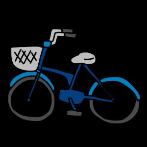 ボロボロな自転車