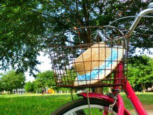 子ども自転車カゴ