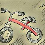 ストライダーから自転車へ乗り換え