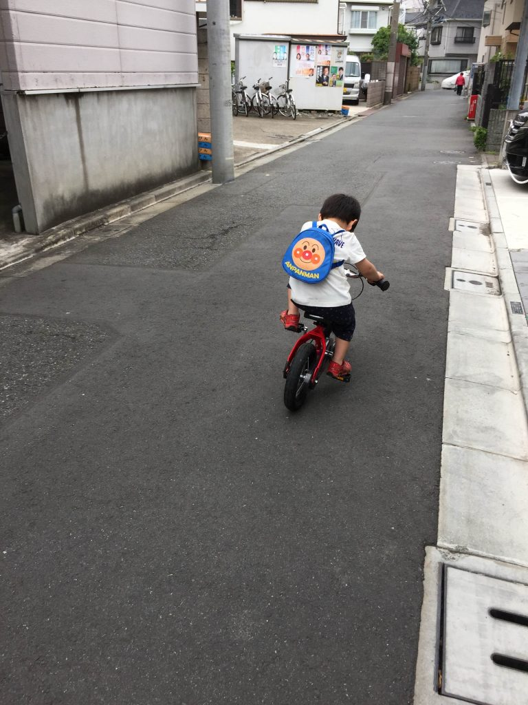 へんしんバイク 自転車練習