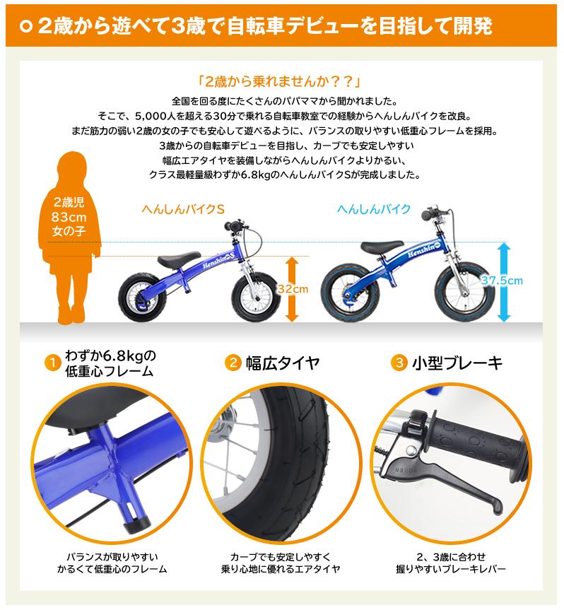 へんしんバイクS 説明