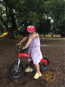 3歳へんしんバイク