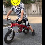 5歳児、自転車デビューにキッカーグランデとへんしんバイク迷う。
