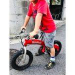 へんしんバイクは何歳まで乗れる?5歳児で12インチは小さくない?