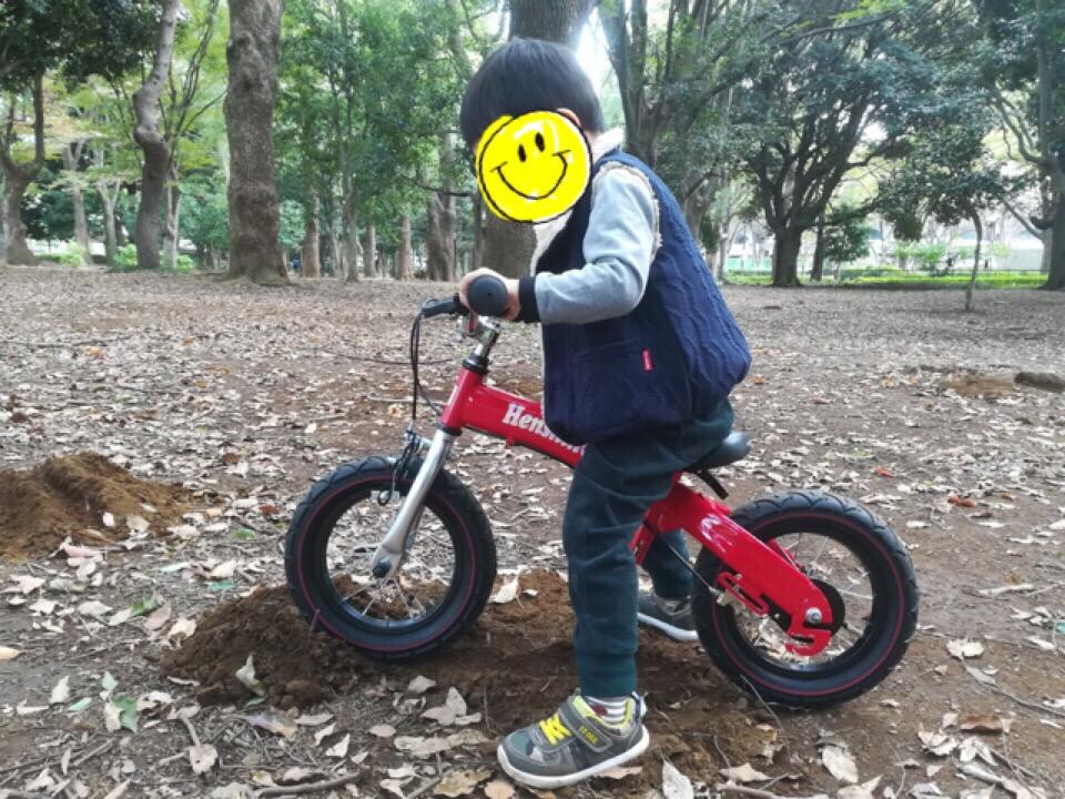 3歳 へんしんバイク